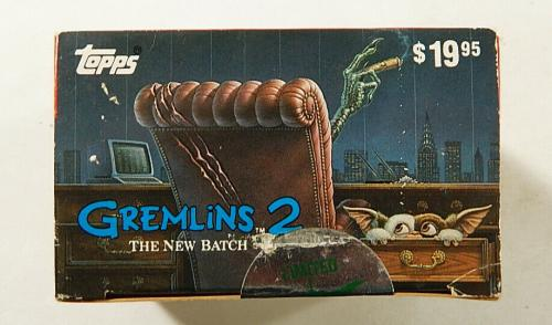1990 Topps Gremlins 2 Factory Set (110 - Cards) + (11-Stickers)