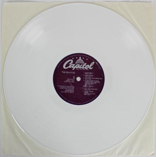 Paul McCartney Beatles Signed White Album w/ White Vinyl BAS & Caiazzo