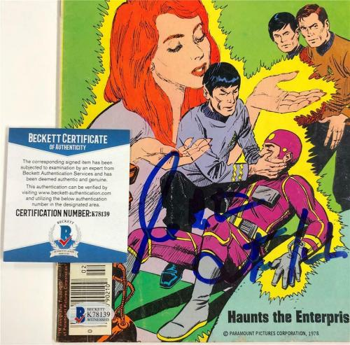 "WILLIAM SHATNER ""Capt. Kirk"" signed STAR TREK Comic Book ~ BAS Witnessed COA"