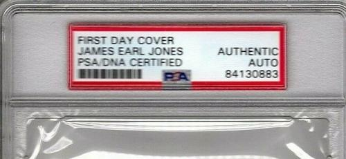 "JAMES EARL JONES Star Wars ""DARTH VADER"" Signed FDC Cachet PSA/DNA SLABBED"