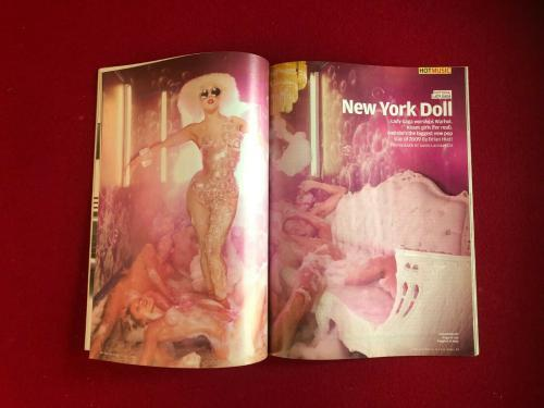 "2009, LADY GAGA, ""Rolling Stone"" Magazine (No Label) Vintage"