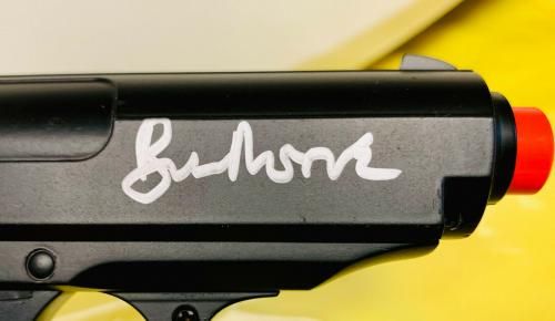 Roger Moore Signed James Bond 007 Replica Gun - Autographed PSA DNA