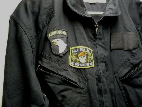 David Lee Roth Skyscraper Tour Main Crew Worn Flight Suit  W/ Patches SS1