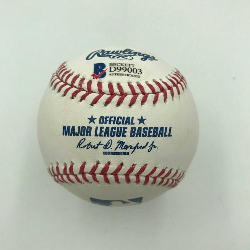 Dick Van Dyke Signed Official Major League Baseball Beckett COA Mary Poppins