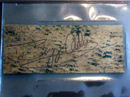 Buzz Aldrin Apollo 11 Nasa Astronaut Signed Auto Moon Cut Beckett Authentic