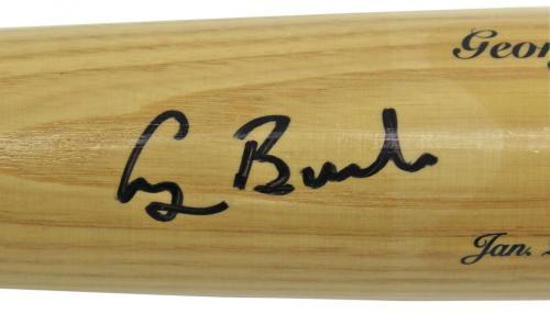 George H.W. Bush Signed Legends Of History Baseball Bat JSA #X42902