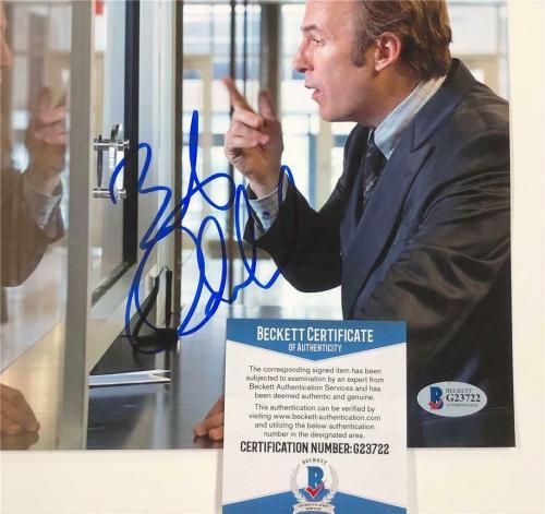 BOB ODENKIRK Breaking Bad signed Better Call Saul 8x10 Photo E ~ Beckett BAS COA