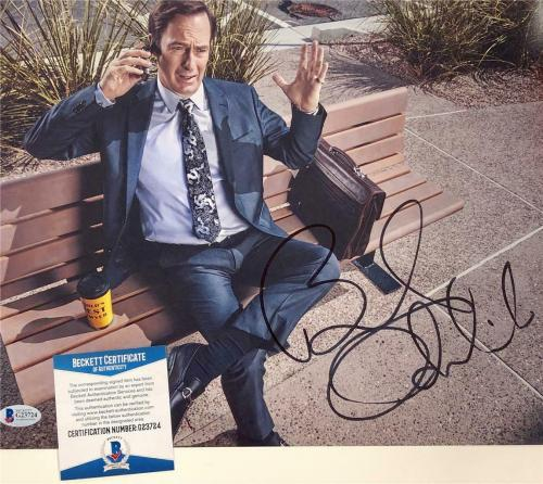 BOB ODENKIRK autograph signed Better Call Saul 11x14 Photo E ~ Beckett BAS COA