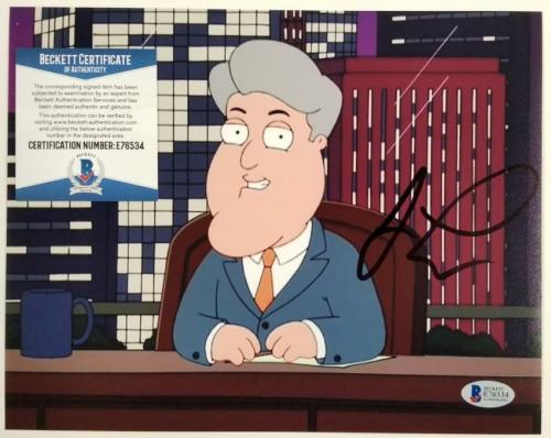 JAY LENO Signed 8x10 Family Guy Photo Tonight Show Autograph ~ Beckett BAS COA
