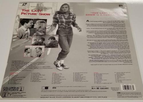 JEFF BRIDGES Signed THE LAST PICTURE SHOW Laserdisc Cover Auto ~ Beckett BAS COA