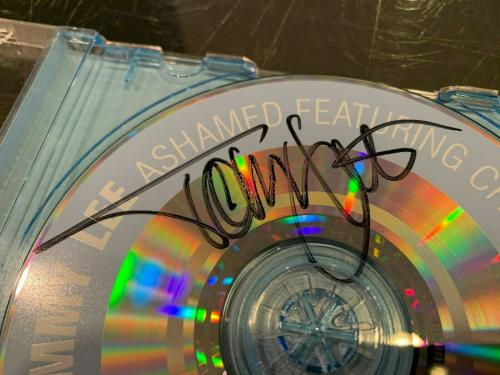 Tommy Lee ''ashamed Featuring Chino Moreno'' Signed Cd Jsa Authenticated