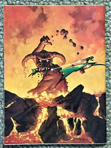 Heavy Metal Adult Illustrated Fantasy Magazine #8 November 1977