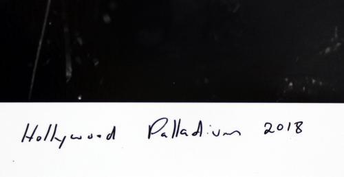 Trent Reznor NIN Signed 12x18 Hollywood Palladium Poster LE #85/100 BAS #G56832