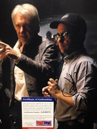 J.J. Abrams Signed 11x14 Star Wars Photo *Harrison Ford PSA AA40572