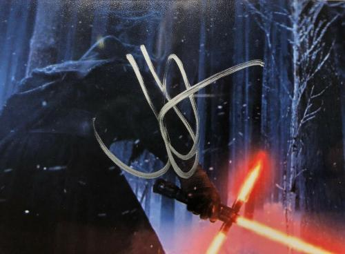 JJ J.J. Abrams Signed Star Wars 4x6 Photo PSA 84109263