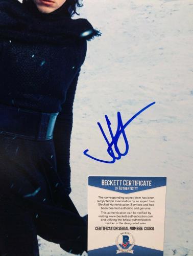 J.J. JJ Abrams Signed Star Wars 12x18 Photo BAS Beckett C10931