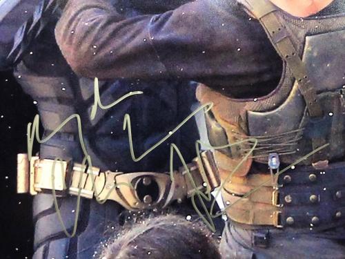 Christian Bale Signed Batman The Dark Knight 11x14 Photo PSA Q14292