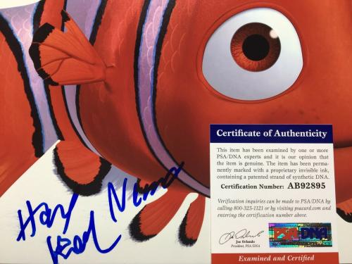 Hayden Rolence Signed Finding Dory 11x14 Photo *Nemo PSA AB92895
