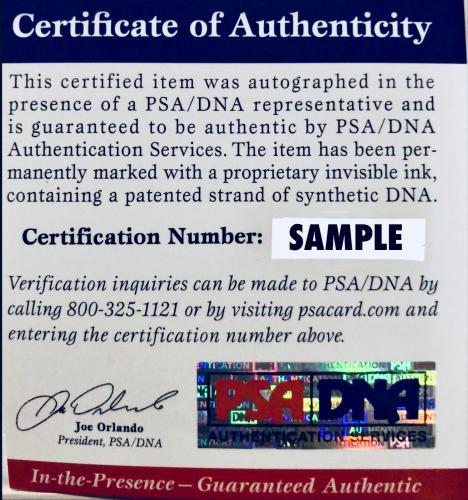 James Bond 007 Roger Moore Signed Die Cast Car - PSA DNA Autograph