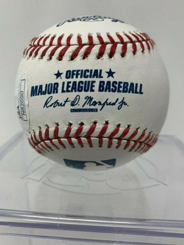 President Donald Trump Signed Baseball The Donald - James Spence JSA COA