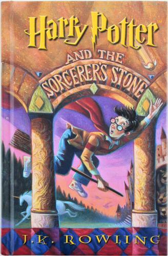 Daniel Radcliffe Signed Harry Potter & The Sorcerer's Stone Book BAS #F99218