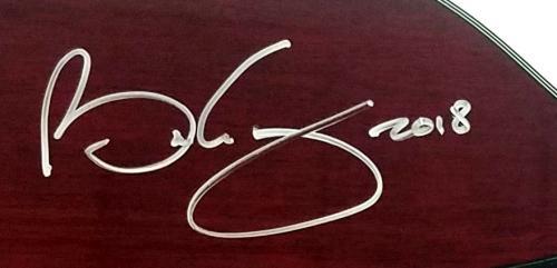 Queen Brian May Signed BMG Signature Guitar Antique Cherry ACOA