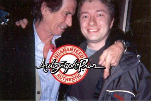 Rolling Stones Keith Richards Autographed Fender Tele Guitar UACC AFTAL RD