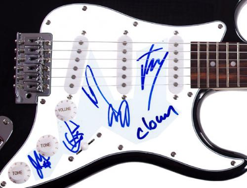 Slipknot Autographed All Hope Is Gone Signed Guitar Exact Video Proof RACC TS UA