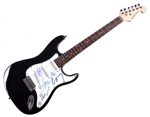 Slipknot Signed Welcome To Our Neighborhood Guitar Exact Video Proof