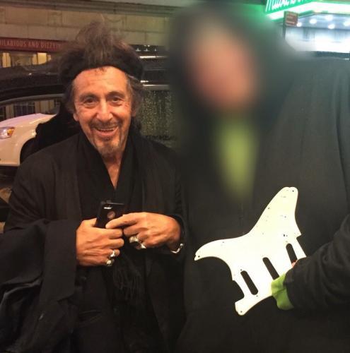 Al Pacino Signed Scarface Autographed Guitar RACC TS UACC RD AFTAL