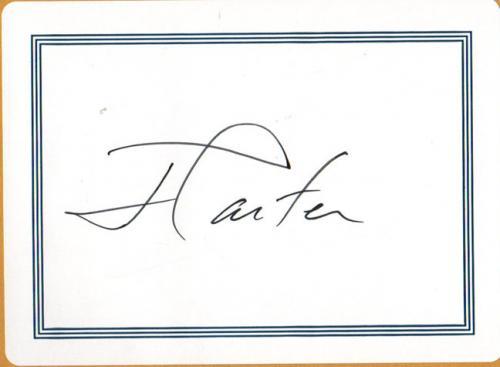 President Jimmy Carter Autographed The Hornet&#39s Nest Book AFTAL