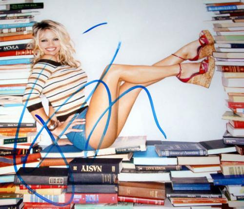 Pam Pamela Anderson Autograph Signed Stacked Photo & Proof  AFTAL
