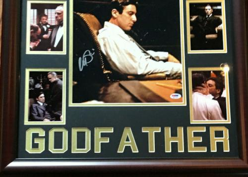Al Pacino signed 11x14 Godfather framed photo collage autograph PSA/DNA COA
