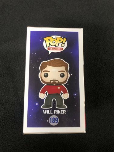 Jonathan Frakes Signed Star Trek The Next Generation Will Riker Funko Pop Figure