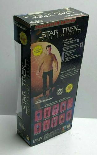 "William Shatner Signed 9"" Star Trek Action Figure Playmates *Captain Kirk PSA"