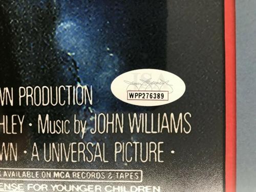 RICHARD DREYFUSS authentic signed JAWS Mini Poster custom framed display-JSA COA