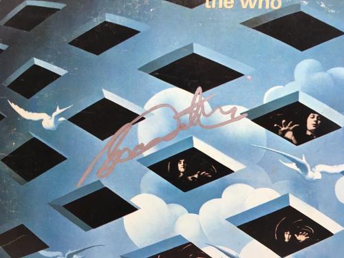 Roger Daltrey Signed Tommy Vinyl Record JSA Coa The Who