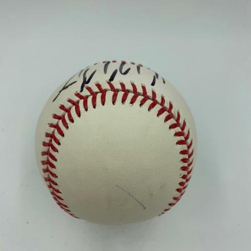 President Donald Trump Signed Autographed Major League Baseball With PSA DNA COA