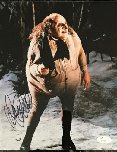 DANNY DEVITO (The Penguin-Batman Returns) signed 8x10 custom framed display-JSA