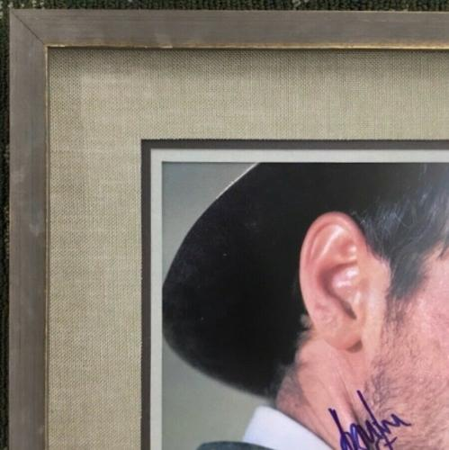 HARRISON FORD (Indiana Jones) authentic signed custom framed display-Beckett/JSA