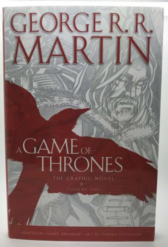 Geroge RR Martin Signed Autographed A Game of Thrones Book Beckett BAS
