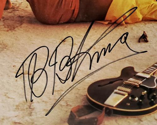 "B.B. KING Signed Autographed Vinyl ""GUESS WHO"" Album LP JSA #DD21447"