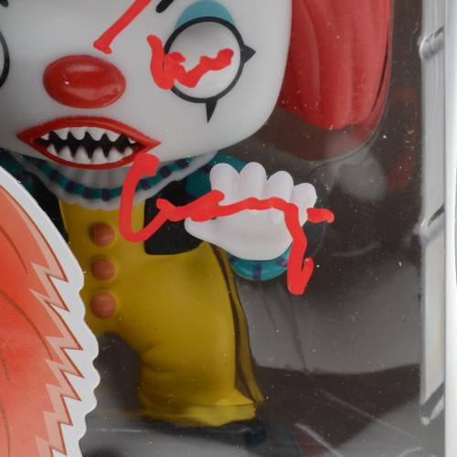Tim Curry It Autographed #472 Pennywise Funko Pop!