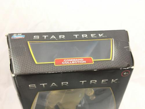 William Shatner Signed Captain Kirk Action Figure Star Trek JSA Coa