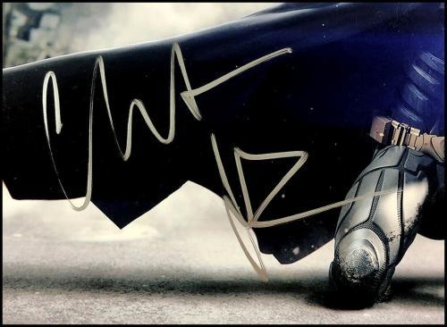 Christian Bale Autographed 11x14 Photo Picture The Dark Knight Batman Jsa Coa