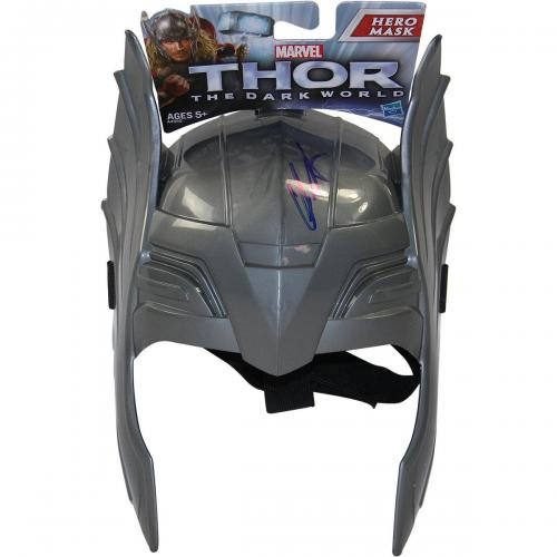 "Chris Hemsworth Signed ""Thor"" Mask"