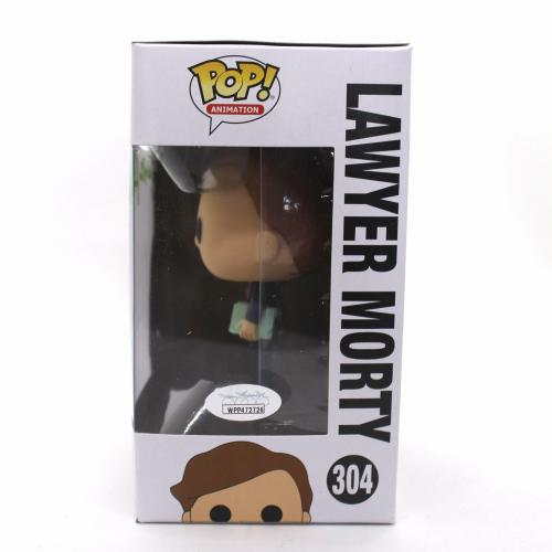 Justin Roiland Autograph Funko Pop Rick and Morty Lawyer Signed JSA COA Z2
