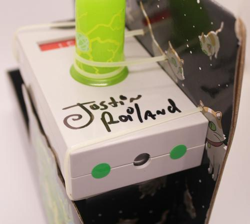 Justin Roiland Autograph Rick and Morty Portal Gun Co-Creator Signed JSA COA Z1