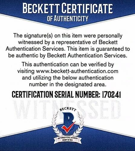 ADAM DRIVER & DAISY RIDLEY Signed STAR WARS 11x14 Topps Photo Beckett BAS I70241