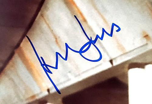 """HARRISON FORD Signed STAR WARS """"Han Solo"""" 16x20 Photo Graded PSA/DNA 10 #AF09860"""